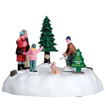 Lemax Pine Hill Tree Farm, Battery Operated 4.5V