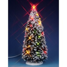 Lemax Lighted Christmas Tree, Large, Battery Operated (4.5V)