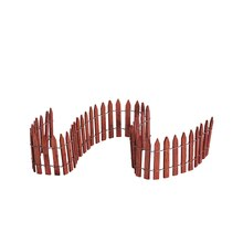 Lemax Wired Wooden Fence