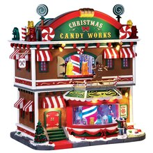 Lemax Christmas Candy Works with 4.5V Adaptor