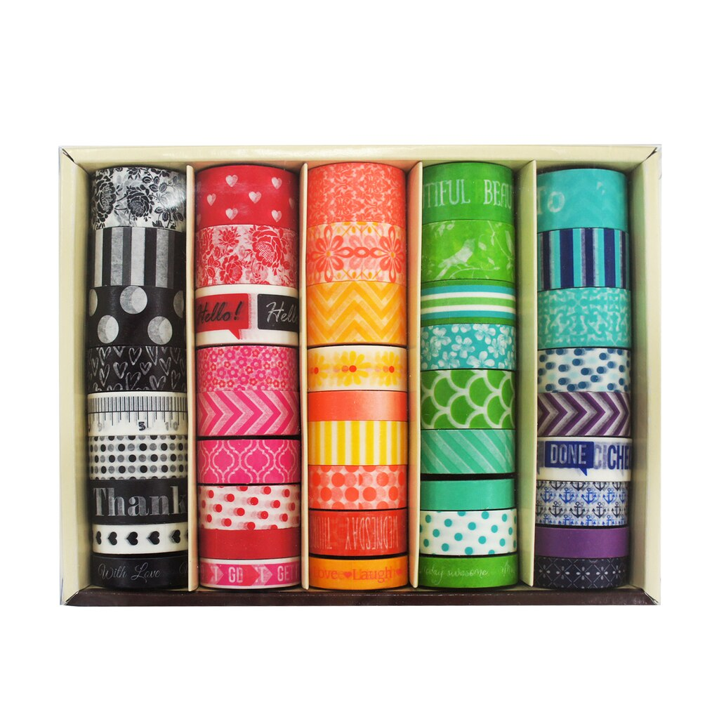 Shop for the planner washi tape box by recollections at for What can you do with washi tape