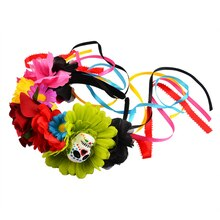 Day of the Dead Floral Headband By Imagin8