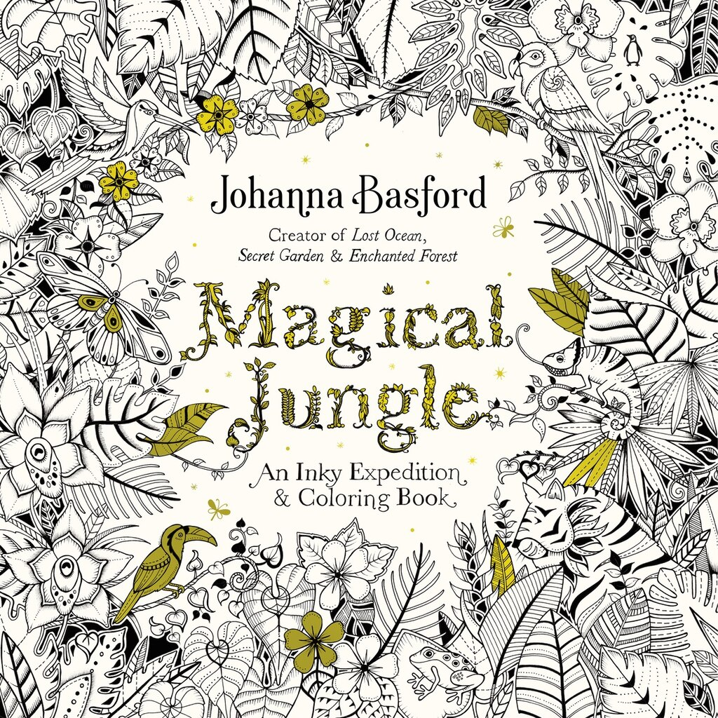 Magical Jungle An Inky Expedition Amp Coloring Book For Adults