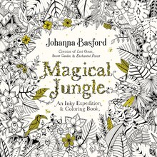 magical jungle an inky expedition coloring book for adults - Coulering Book