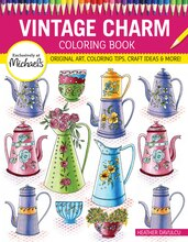 Vintage Charm Coloring Book