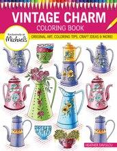Vintage Charm Coloring Book
