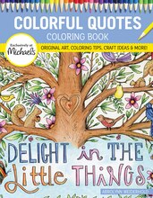 Colorful Quotes Coloring Book