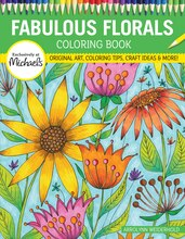 Fabulous Flowers Coloring Book