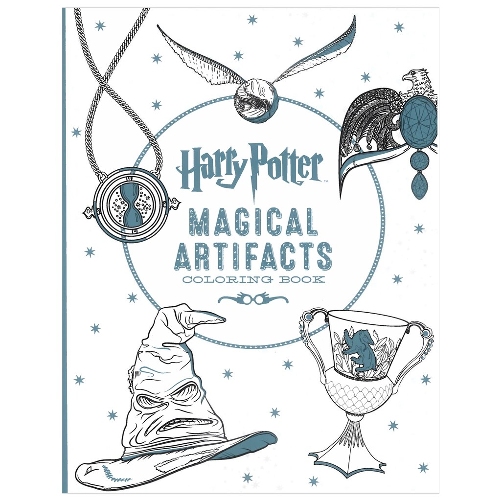 Harry potter magical artifacts coloring book Coloring books for adults michaels