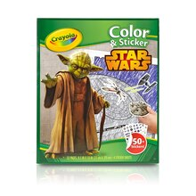 Crayola Star Wars Color & Sticker Book