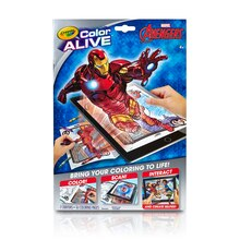 Crayola Color Alive Marvel Avengers