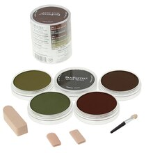 PanPastel 5 Color Extra Dark Earth Colors Set