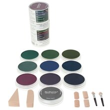 PanPastel 10 Color Extra Dark Shades Cool Set