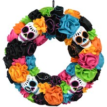 Day of the Dead Wreath By Celebrate It