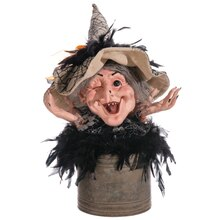 "12"" Witch's Head in Tin Pot"