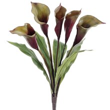"24"" Calla Lily Bush, Green"
