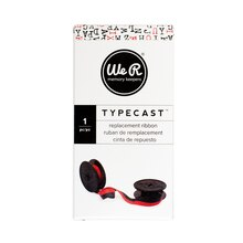 We R Memory Keepers Typecast Typewriter Replacement Ribbon, Black/Red