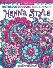 Notebook Doodles: Henna Style Coloring Book