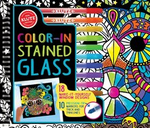 Klutz Color-In Stain Glass