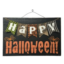 Happy Halloween Wood Sign By Celebrate It