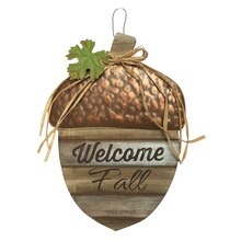 Acorn Welcome Sign By Ashland