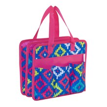 Everything Mary Ikat Tag-Along Tote