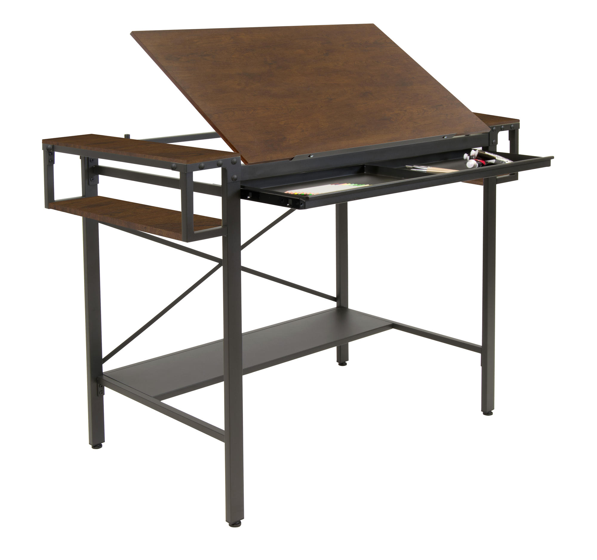 traditional drafting table u0026 craft station by loft