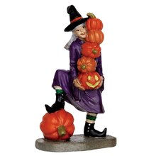 Lemax Spooky Town Delicate Balance Witch