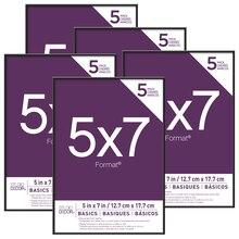 "Basics Format 5"" x 7"" Frames By Studio Decor"