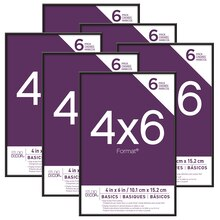 "Basics Format 4"" x 6"" Frames By Studio Decor"