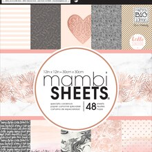 mambiSHEETS Specialty Paper Pad, Rose Gold