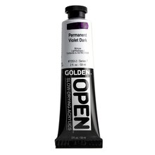 Golden OPEN Acrylics 2oz. Permanent Violet Dark