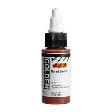 Golden High Flow Acrylic 1oz. Burnt Sienna