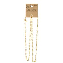 Charmalong Gold Crystal Necklace By Bead Landing