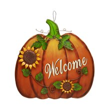 Welcome Pumpkin Sign By Ashland