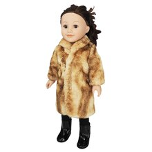 Doll Luxury Faux Fur Coat By Creatology