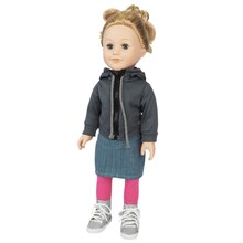Doll Hoodie with Skirt & Leggings By Creatology