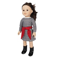 Doll Houndstooth Tunic with Belt By Creatology