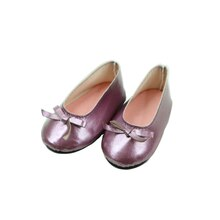 Metallic Doll Flats By Creatology, Purple