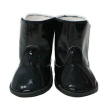 Black Doll Boots By Creatology