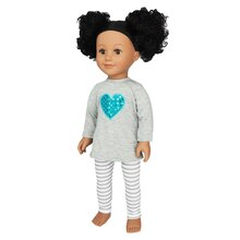 Doll Heart Pajama Set By Creatology