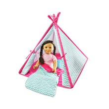 Doll Tent & Sleeping Bag Set By Creatology