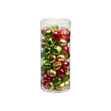 Red, Green & Gold Colored Bells By Celebrate It™, medium