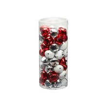 20 mm Red, White & Silver Bells By Celebrate It