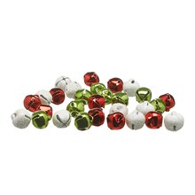 Green, White & Red Bells By Celebrate It Contents
