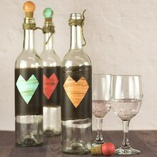 Rustic Wedding Wine Bottles, medium