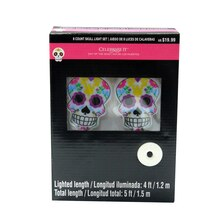 Day of the Dead Skull Light Set By Celebrate It
