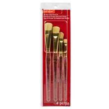 Half Moon Stencil Brush Set By Craft Smart