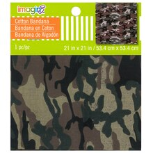 Camouflage Bandana by Imagin8, Green