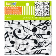 Music Notes Bandana By Imagin8